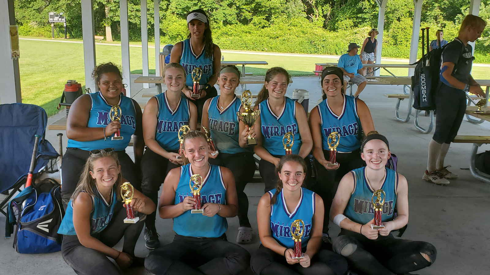 CT Mirage 18U wins summer tournament July 2020
