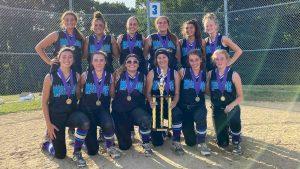 CT Mirage Travel Softball Annie Olender Tournament Champions July 2020